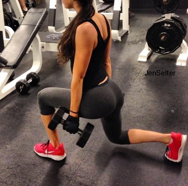 Rumpen hennes er så gjennomtrent at den er sponset av Nike. Her er øvelsene hun bruker!