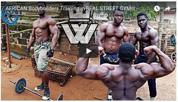 Du trodde du var sterk og tøff? Da har du ikke vært på en afrikansk streetgym!
